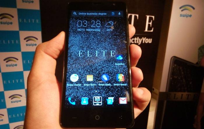 "Swipe launched ""Elite"" Smartphone with 2GB RAM at Rs. 5,999"