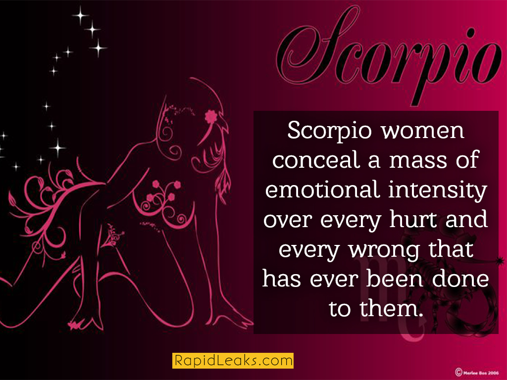 11 Facts You Should Know About Scorpio Women