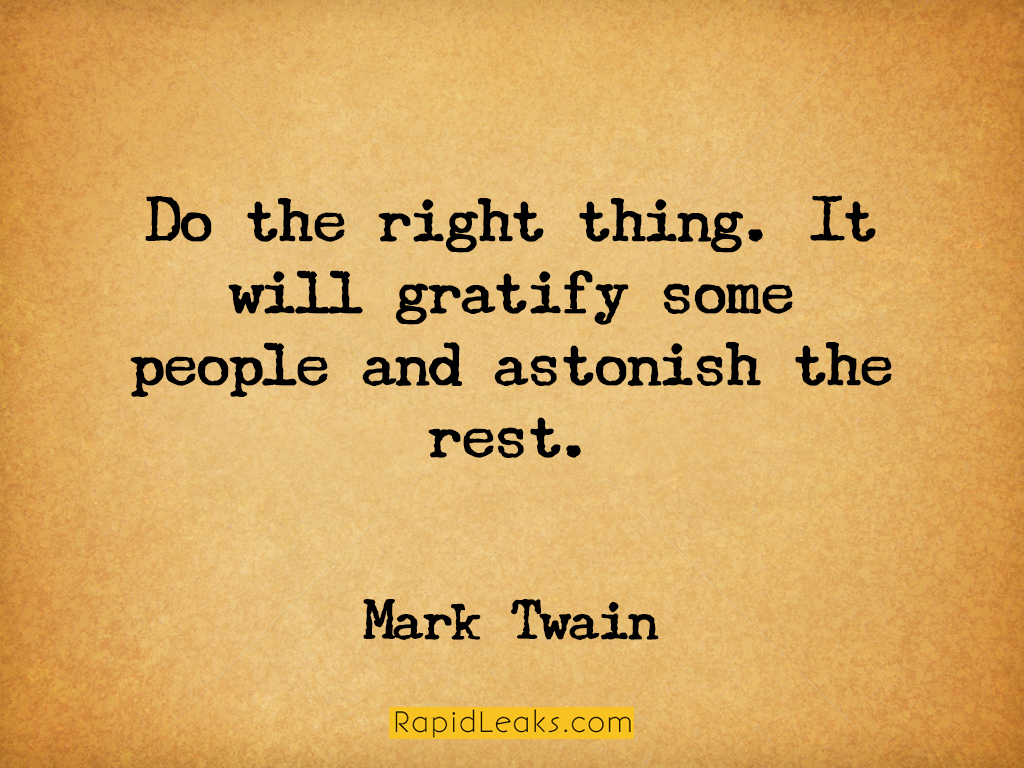Mark Twain 5. Shutting Down Your Mind Is The Worst Thing You Can Do.
