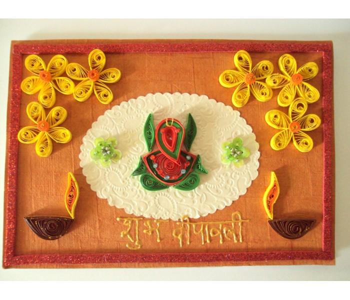 Handmade diwali greetings