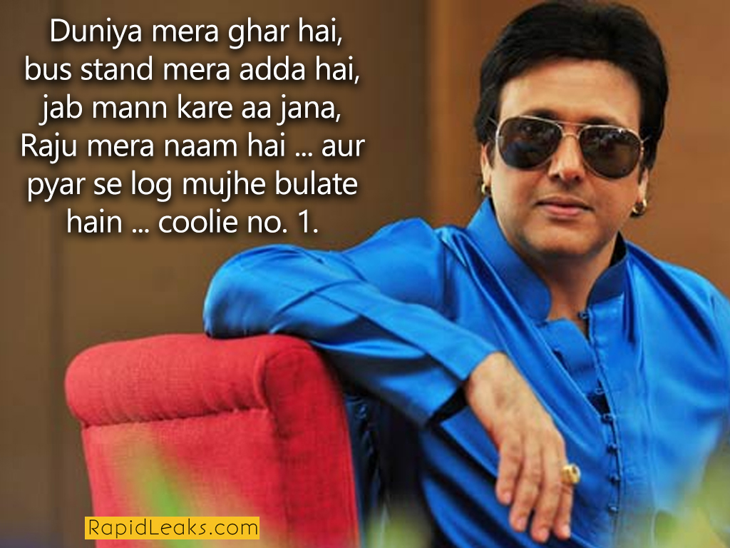 11 Ridiculously Funny Govinda Dialogues That Will Make You ...