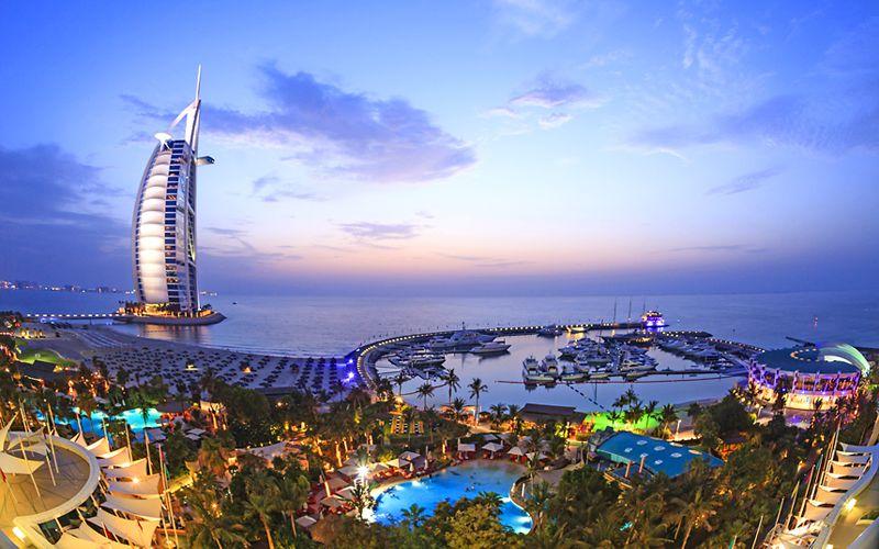 pleasant weather in Dubai